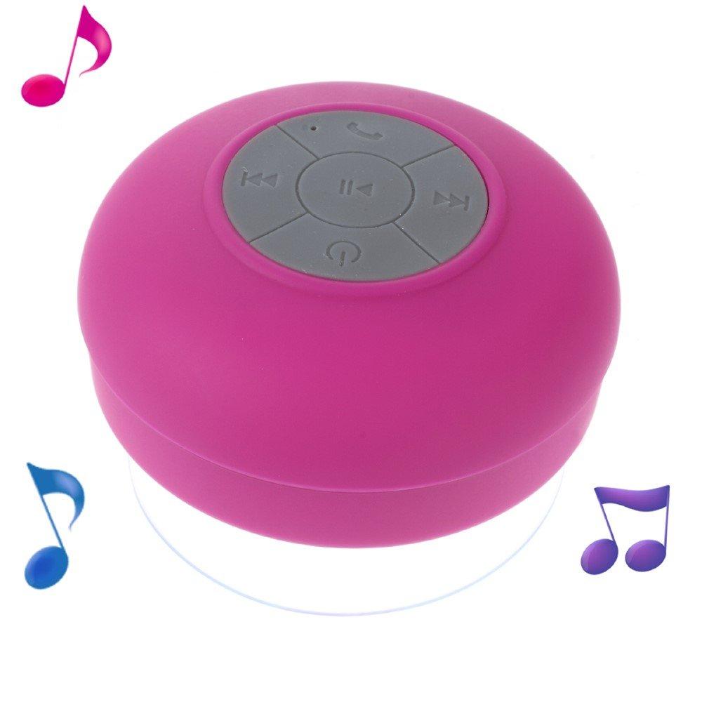 Image of Universal Vandtæt Bluetooth Højtaler - Rosa
