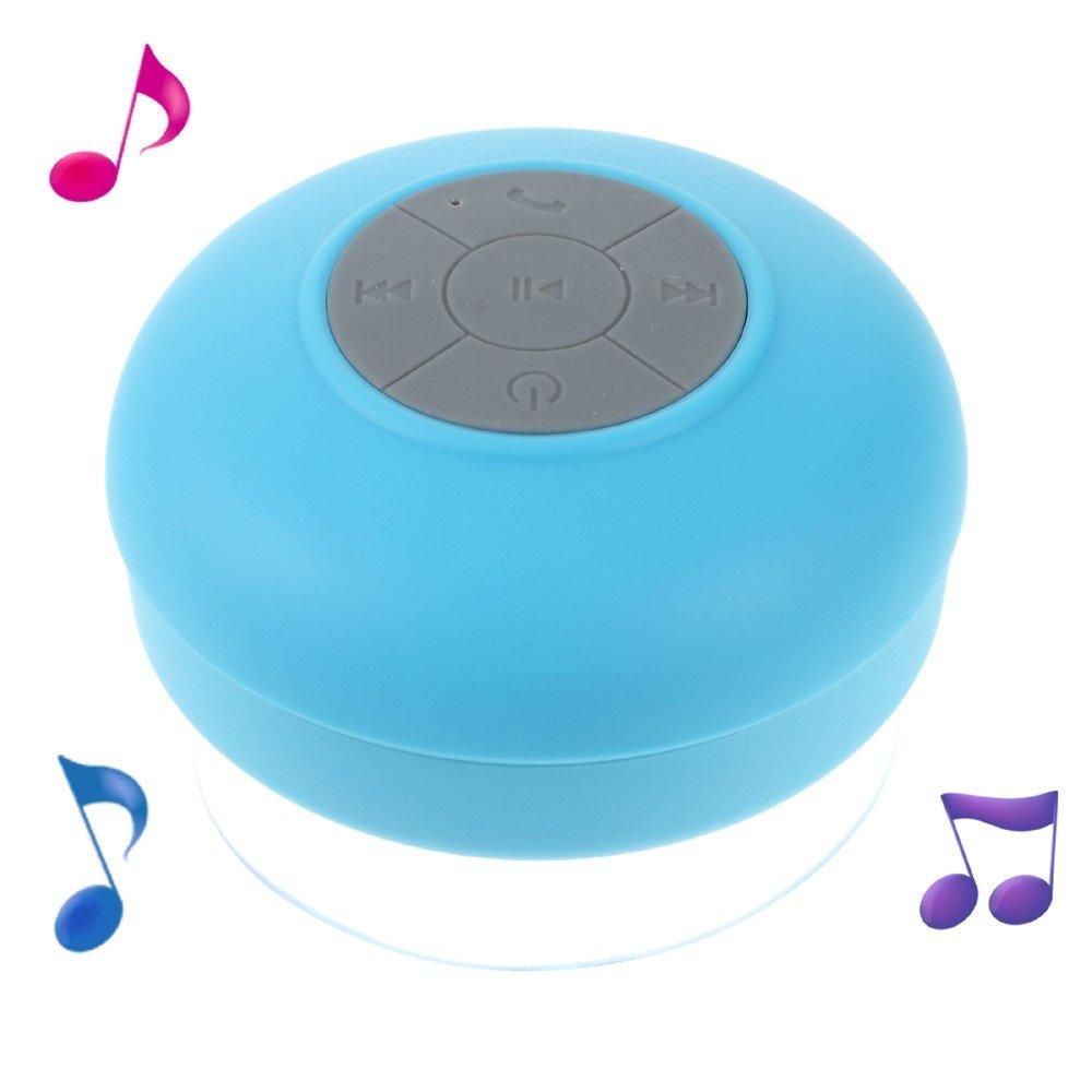 Image of Universal Vandtæt Bluetooth Højtaler - Blå
