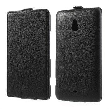 Image of Nokia Lumia 1320 FlipCase Taske/Etui - Sort