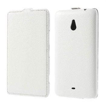 Image of Nokia Lumia 1320 FlipCase Taske/Etui - Hvid