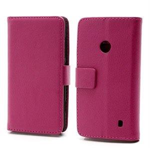 Nokia Lumia 520 FlipStand Taske/Etui - Rosa