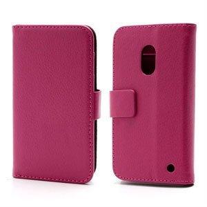 Image of Nokia Lumia 620 FlipStand Taske/Etui - Rosa
