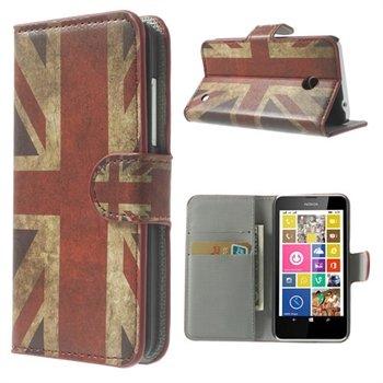 Image of Nokia Lumia 630 & 635 FlipCover Med Pung - Union Jack