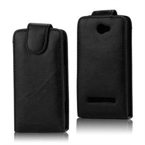 Image of HTC 8S taske/etui med fliplukning - sort