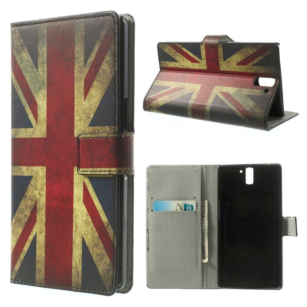 OnePlus One Design Flip Cover - Union Jack