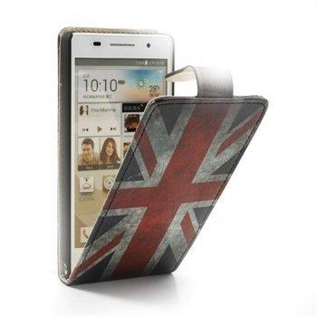Image of Huawei Ascend P6 FlipCase Taske/Etui - Union Jack