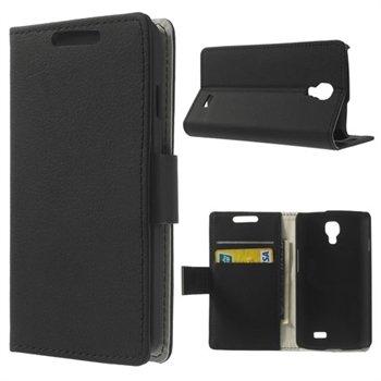Image of LG F70 Flip Cover Med Pung - Sort