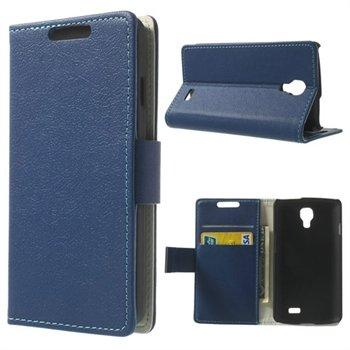 Image of LG F70 Flip Cover Med Pung - Blå