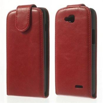 Image of LG L90 Deluxe Flip Cover - Rød