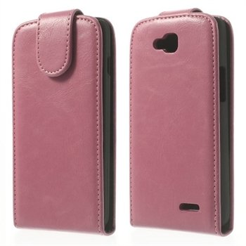 Image of LG L90 Deluxe Flip Cover - Pink