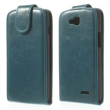 Image of LG L90 Deluxe Flip Cover - Blå