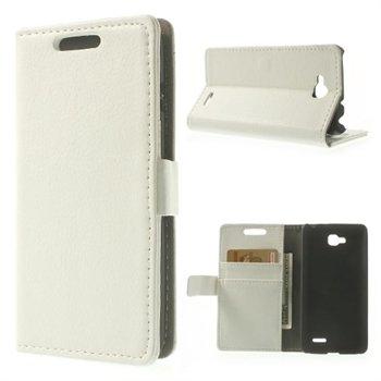 Image of LG L90 Deluxe Flip Cover Med Pung - Hvid