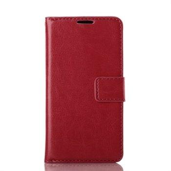 Billede af LG L90 Flip Cover Med Pung - Rød