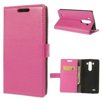 Billede af LG G3 Flip Cover Med Pung - Rosa