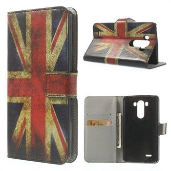 Image of LG G3 Flip Cover Med Pung - Union Jack