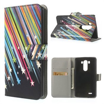 Image of LG G3 Flip Cover Med Pung - Shooting Stars