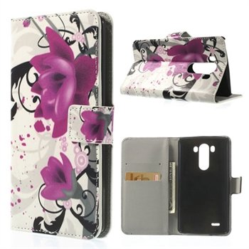 Image of LG G3 Flip Cover Med Pung - Lotus Flower