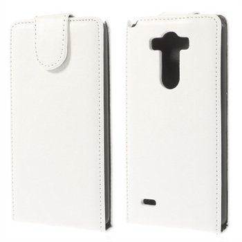 Image of LG G3 Deluxe Flip Cover - Hvid