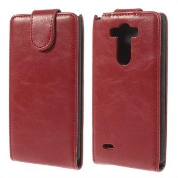 Image of LG G3 Deluxe Flip Cover - Rød