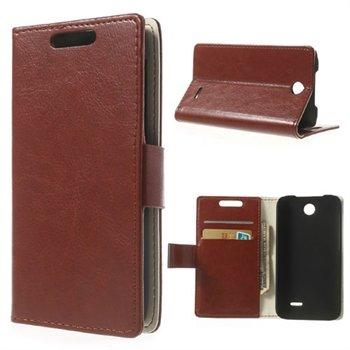 Image of HTC Desire 310 Flip Cover Taske/Etui - Brun
