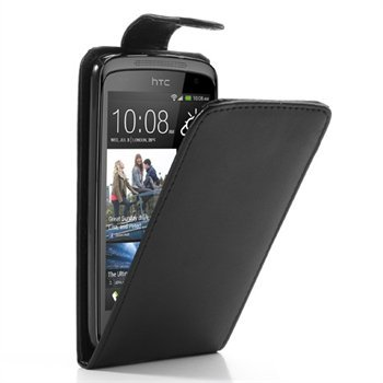Image of HTC Desire 500 FlipCase Taske/Etui - Sort