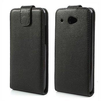 HTC Desire 601 FlipCase Taske/Etui - Sort