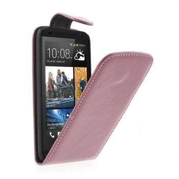 HTC Desire 601 FlipCase Taske/Etui - Pink