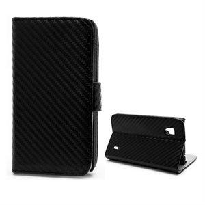 Image of LG Optimus G taske/etui med stand - sort carbon