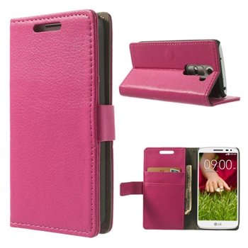 Image of LG G2 Mini Flip Cover Med Pung - Rosa