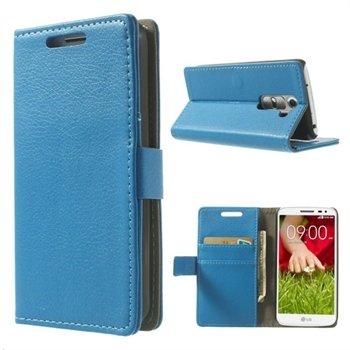 Image of LG G2 Mini Flip Cover Med Pung - Blå