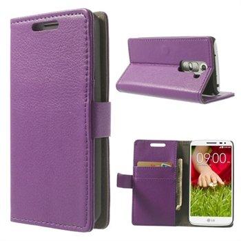 Image of LG G2 Mini Flip Cover Med Pung - Lilla