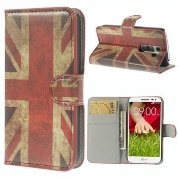 Image of LG G2 Mini Flip Cover Med Pung - Union Jack