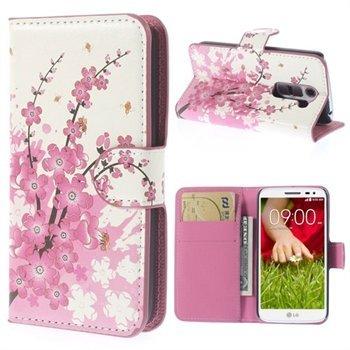 Image of LG G2 Mini Flip Cover Med Pung - Plum Blossom