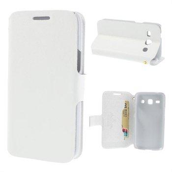 Image of Samsung Galaxy Core Plus FlipStand Taske/Etui - Hvid