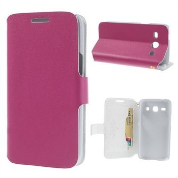 Image of Samsung Galaxy Core Plus FlipStand Taske/Etui - Rosa