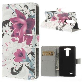 Billede af LG G3 S Design Flip Cover Med Pung - Lotus Flower
