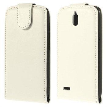 Image of Huawei Ascend G610 Flip Cover - Hvid