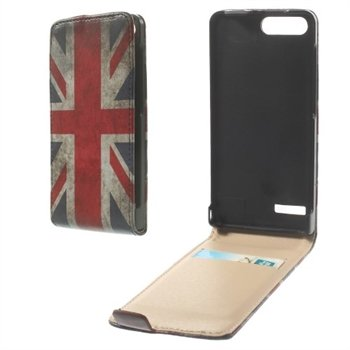 Image of Huawei Ascend G6 Flip Cover - Union Jack