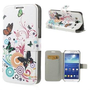 Billede af Samsung Galaxy Grand 2 Flip Cover Med Pung - Vivid Butterfly