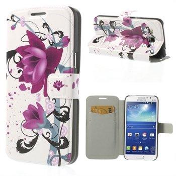 Billede af Samsung Galaxy Grand 2 Flip Cover Med Pung - Lotus Flower