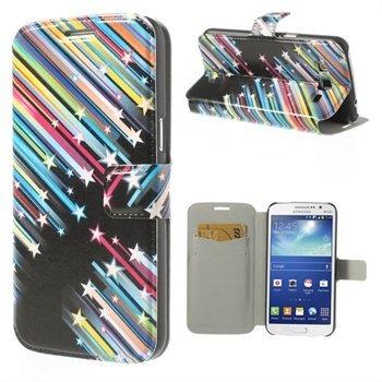 Billede af Samsung Galaxy Grand 2 Flip Cover Med Pung - Shooting Stars