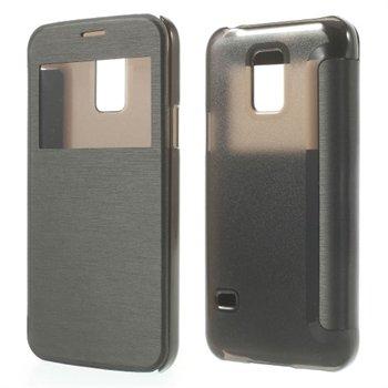 Billede af Samsung Galaxy S5 Mini S-View Flip Cover - Sort