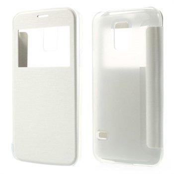 Billede af Samsung Galaxy S5 Mini S-View Flip Cover - Hvid