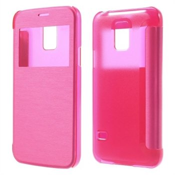 Billede af Samsung Galaxy S5 Mini S-View Flip Cover - Rosa