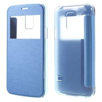 Billede af Samsung Galaxy S5 Mini S-View Flip Cover - Lys Blå
