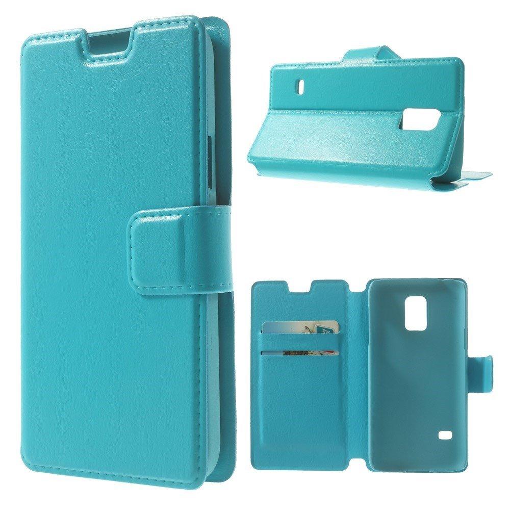Billede af Samsung Galaxy S5 Mini Flip Cover Med Pung - Blå