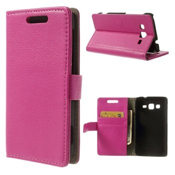 Image of Samsung Galaxy Core Advanced FlipStand Taske/etui - Rosa