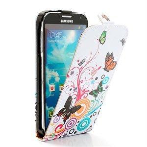 Billede af Samsung Galaxy S4 Design Taske/Etui - Vivid Butterfly