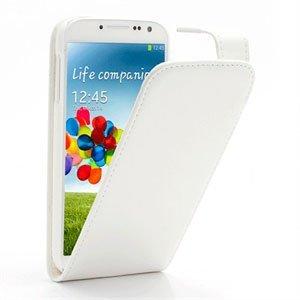 Samsung Galaxy S4 FlipCase Taske/Etui - Hvid