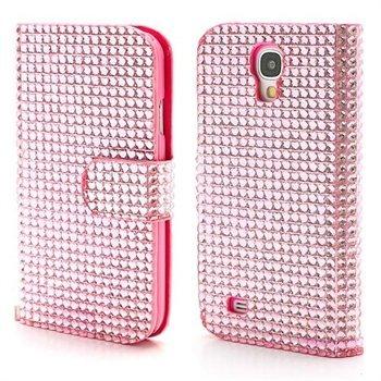 Billede af Samsung Galaxy S4 FlipStand Taske/Etui - Pink Glitter